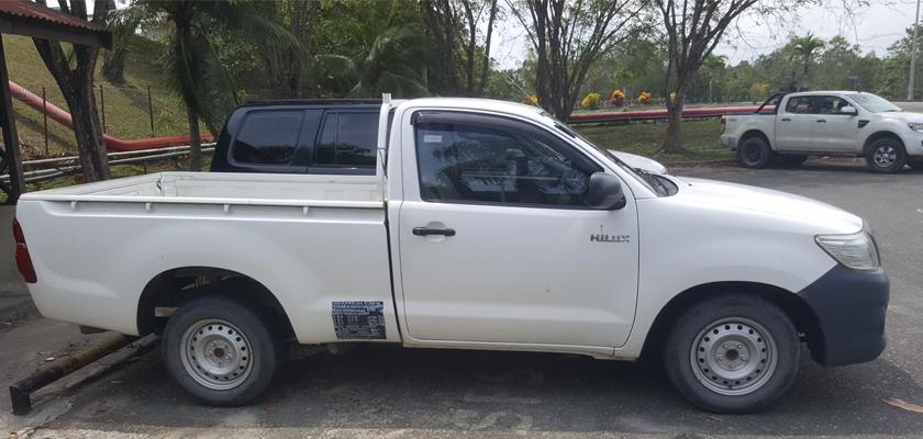 Gambar Pick Up Toyota Hilux Single Cabin 2014