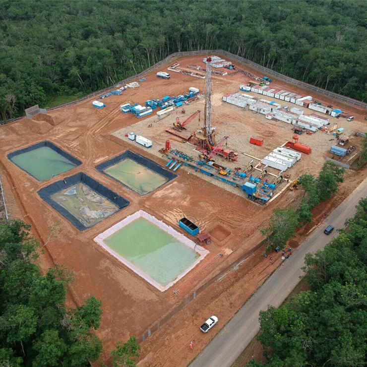 Design Slope Protection dan Konstruksi Wellpad Oil & Gas Project 1