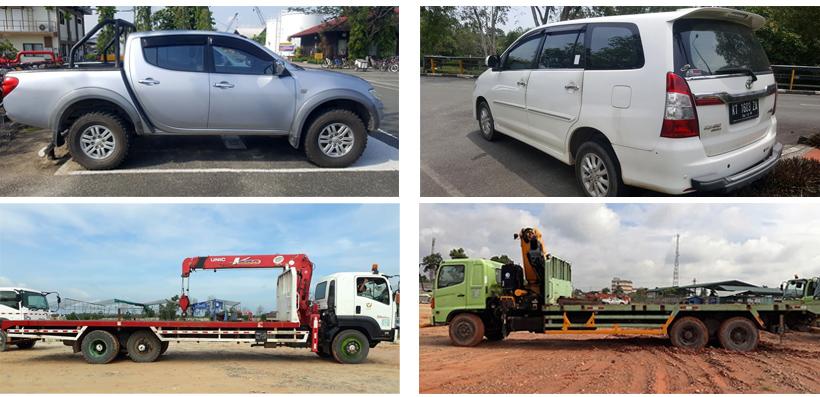 Sewa Kendaraan dan Alat Berat